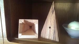 Uhr Pyramide