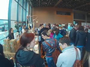 Besucher der Messe eigenArt