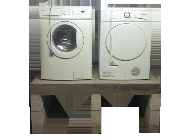 Gemauert und Betoniert. Die Serie zum Podest für Waschmaschine und Trockner.